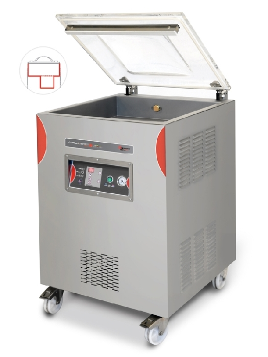 Airlesss DERBY - Free-standing vacuum packing machines